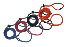 Harness lead S/M (3-18kg) oranje reflecterend